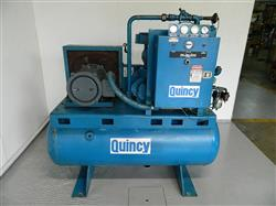 322690 - 20 HP QUINCY Rotary Screw Air Compressor - Model QST 20 ANNI T2, 70 CFM at 125 PSI