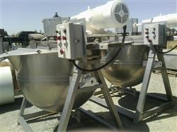 323491 - 200 Gallon LEE 200T Kettle - Direct Steam