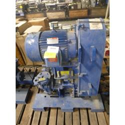 323525 - 15 HP WEIR WARMAN Horizontal Centrifugal Slurry Pump - 1.5in X 1in, Metal-Lined