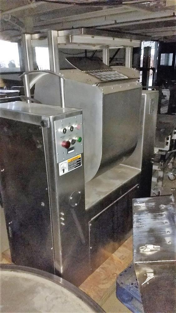 MAGNA High Speed Single Arm Mixer - Model 50H-4C1, Approximate 10 Gallon, 50 Pound Working Capacity