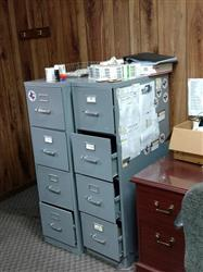 324123 - Filing Cabinet - Lot of 2