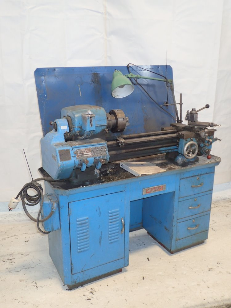 Sheldon Exl 46 B Lathe 324570 For Sale Used N A