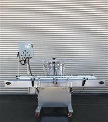 324617 - 6 Valve INLINE FILLING Pressure Gravity Inline Bottle Filler - Stainless Steel