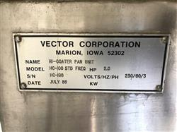 Image VECTOR HC-100 STD Hi-Coater 1053955