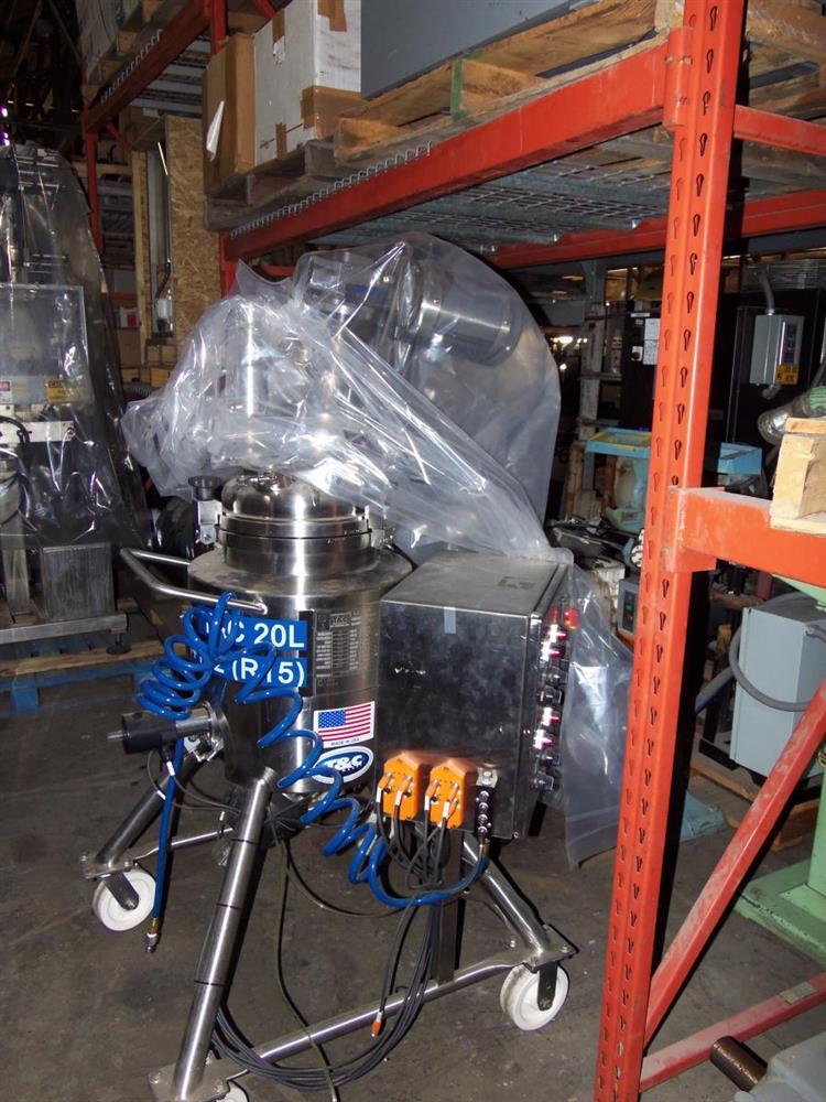 Image T & C Reactor - 20 Liter, Stainless Steel 1056776