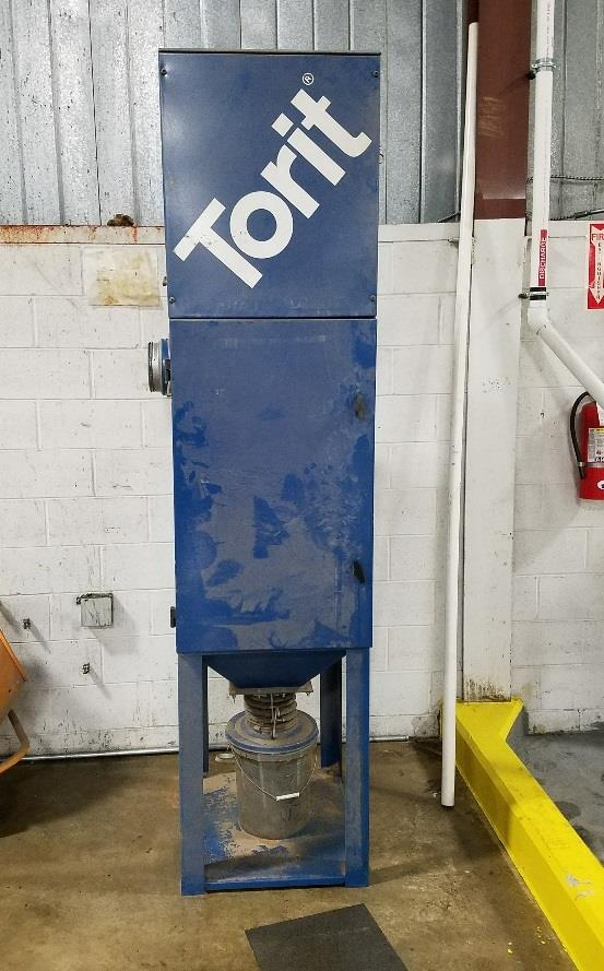 5 HP DONALDSON TORIT Dust Collector - Model VS1500