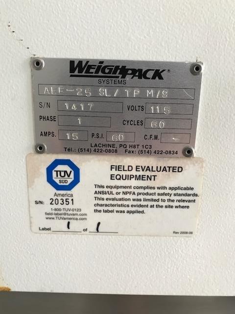 Image WEIGHPACK AEF-25 Weigh Filler 1056952