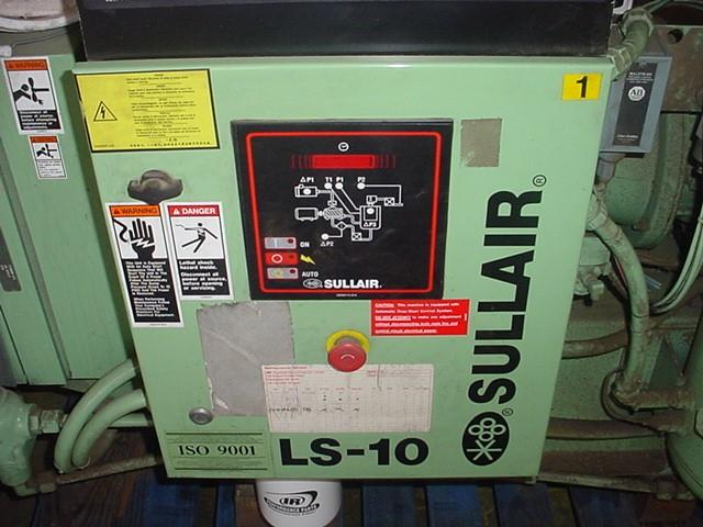 Image 40 HP SULLAIR Rotary Screw Air Compressor - 125 PSI 1058267