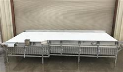 325917 - 7ft X 20ft Long Accumulation Table - Stainless Steel