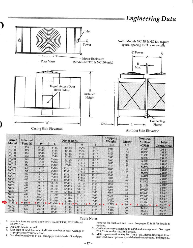 Image MARLEY NC632 Cooling Tower - 1200 Ton 1067546