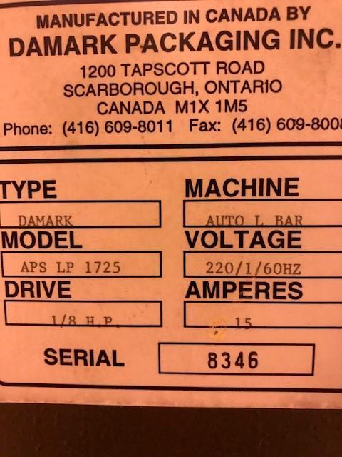 Image DAMARK APS-1725 Auto L-Bar Sealer 1069434