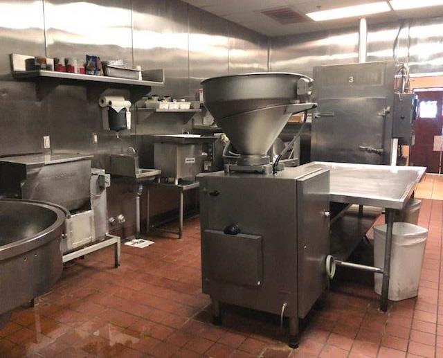 USDA Approved Sausage Kitchen - 2000 Lb. Per Day Production
