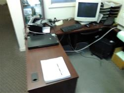 328023 - Computer Desk and Chair