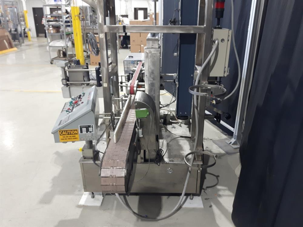 Image AVERY High Speed Front and Back Labeler with ALS 350 Labeling Heads and Lumonics Laser Coder 1074766