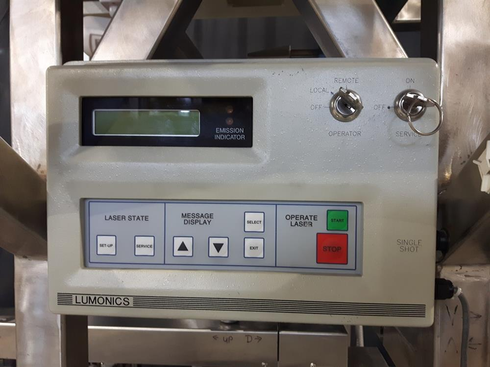 Image AVERY High Speed Front and Back Labeler with ALS 350 Labeling Heads and Lumonics Laser Coder 1074768