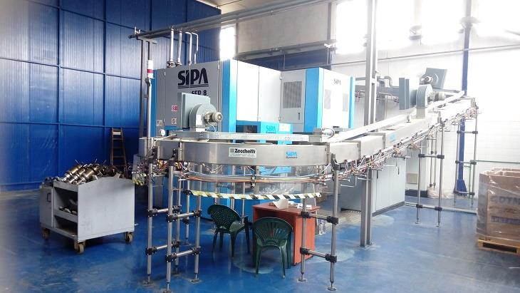 SIPA Mineral Water Bottling - 328601 For Sale Used