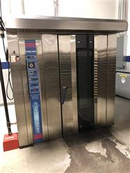 328622 - FORNI-MAX YKG-100 Double Rack Rotary Gas Fired Oven