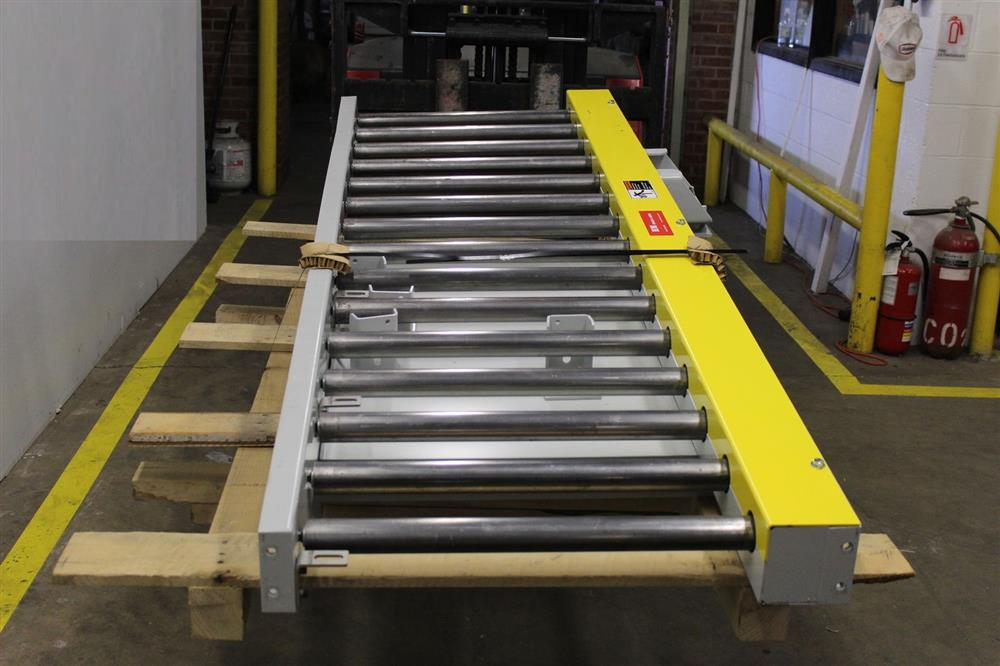 Powered Roller Conveyor - 9 - 329321 For Sale Used