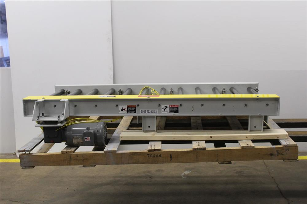 Powered Roller Conveyor - 7 - 329334 For Sale Used