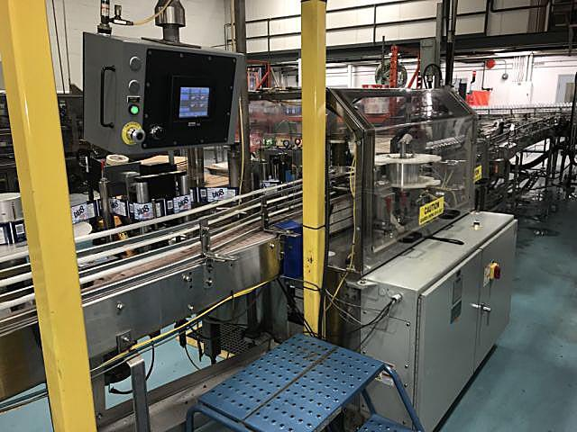 Image TRINE ACCRAPLY 4400 Roll-Fed Wrap Around Hot Glue Labeler 1081379