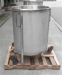 329842 - 105 Gallon Open Top Tank - Stainless Steel
