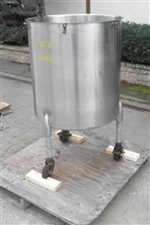 329843 - 90 Gallon PFAUDLER Tank - Stainless Steel