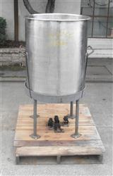 329845 - 90 Gallon Open Top Tank - Stainless Steel
