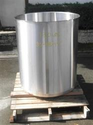 329854 - 110 Gallon Open Top Tank - Stainless Steel