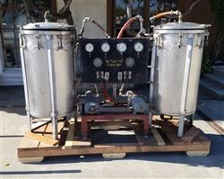 329864 - Stainless Steel Cooker Skid - 100 Gallon Capacity