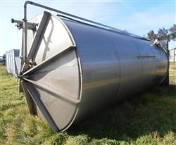 329877 - 6850 Gallon VALLEY FOUNDRY Tank - Stainless Steel