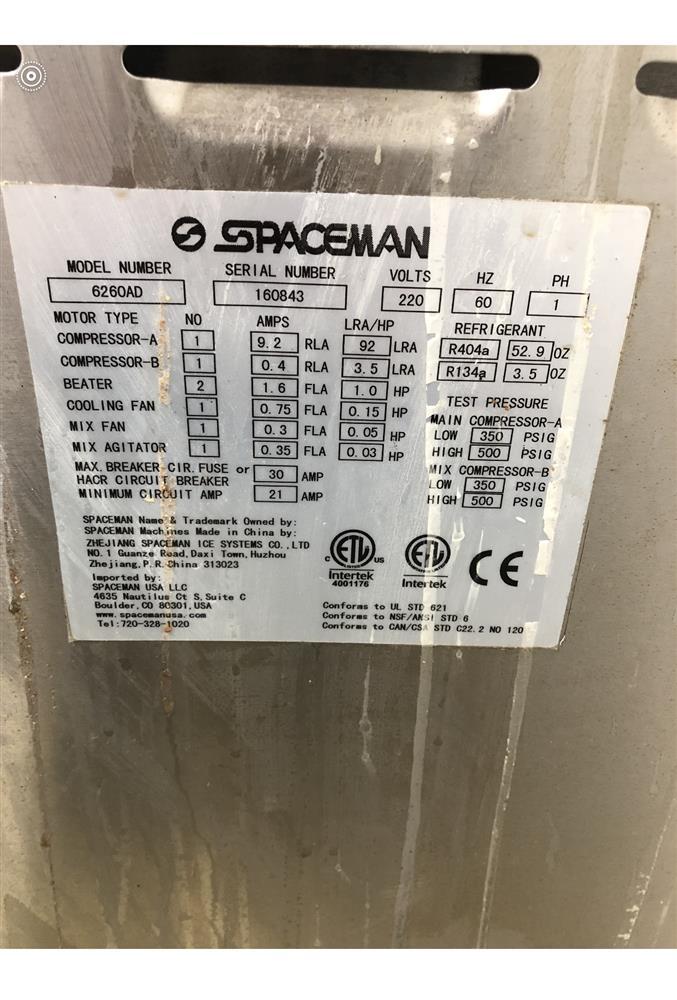 Image SPACEMAN 6260AD Ice Cream Machine 1084145
