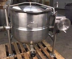 330614 - 40 Gallon CLEVELAND KDL-40T Steam Kettle