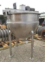 330653 - 400 Gallon HAMILTON SA Double Motion Jacketed Steam Mix Kettle