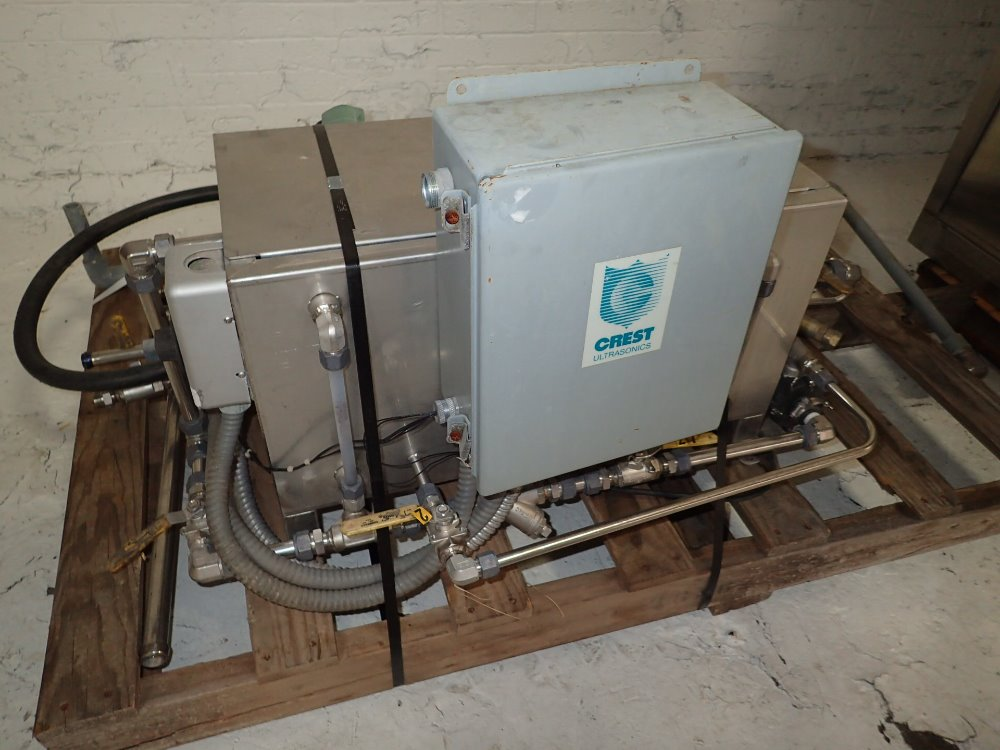 CREST Ultrasonic Cleane - 331078 For Sale Used N/A