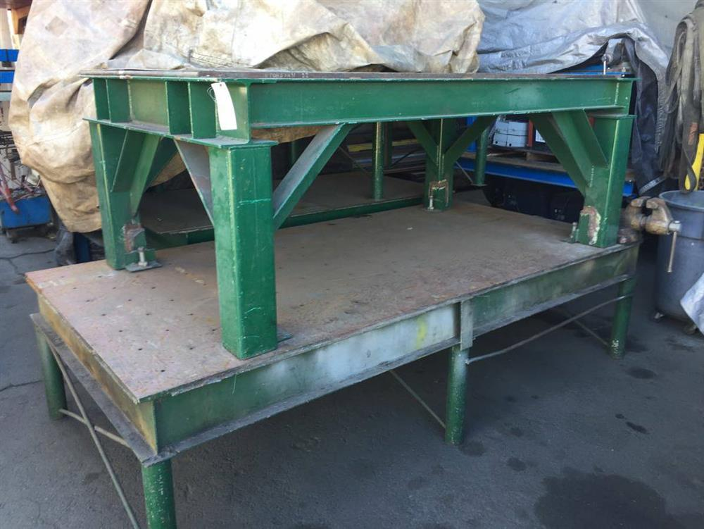 Welding Table For Sale >> Heavy Duty Welding Tables 331210 For Sale Used