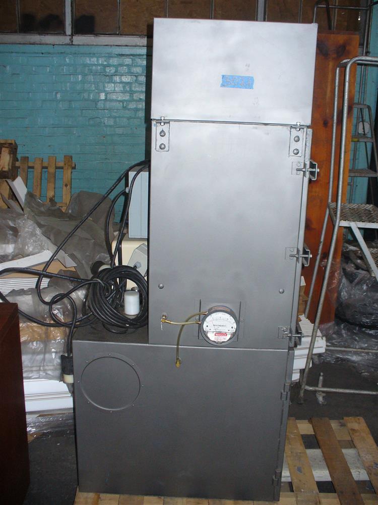 TORIT VS550 Dust Collector - Max Pressure 15 PSIG, Max Temp. 140 Degrees F