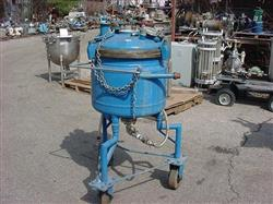 333004 - 20 Gallon PFAUDLER Jacketed Reactor - 316 Stainless Steel