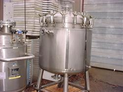 333005 - 132 Gallon PRECISION STAINLESS Jacketed Reactor - 316L Stainless Steel