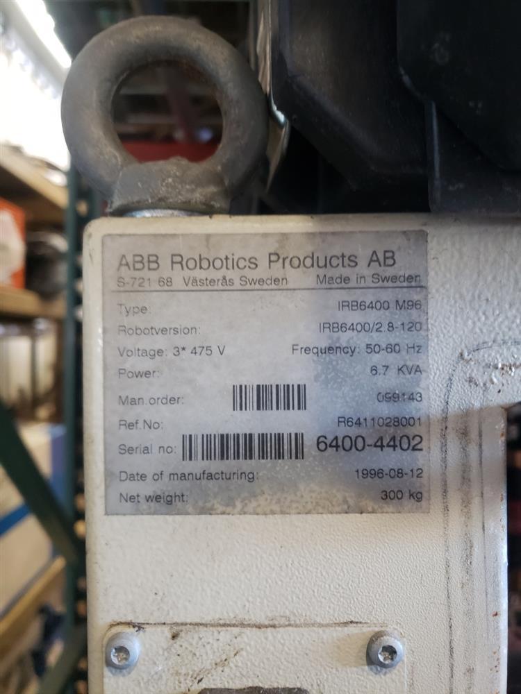Image ABB Robotics FlexPalletizer - Model IRB6400 M96 1446933