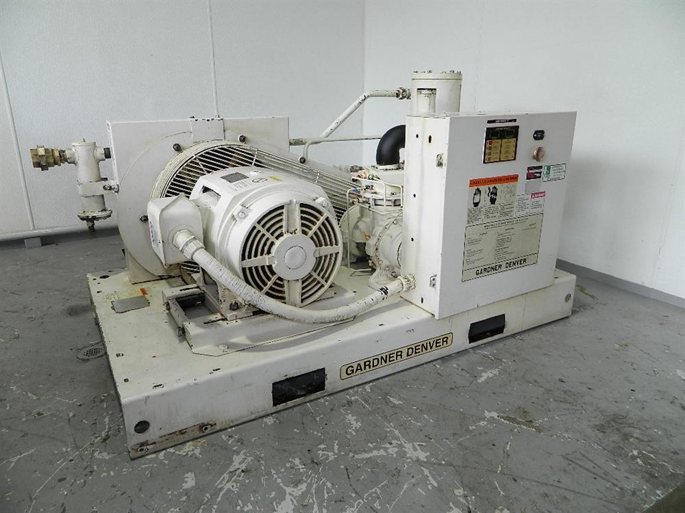 GARDNER DENVER 25 HP AIR COMPRESSOR MODEL No
