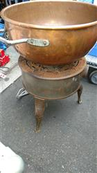 335290 - Copper Candy Making Gas Kettle