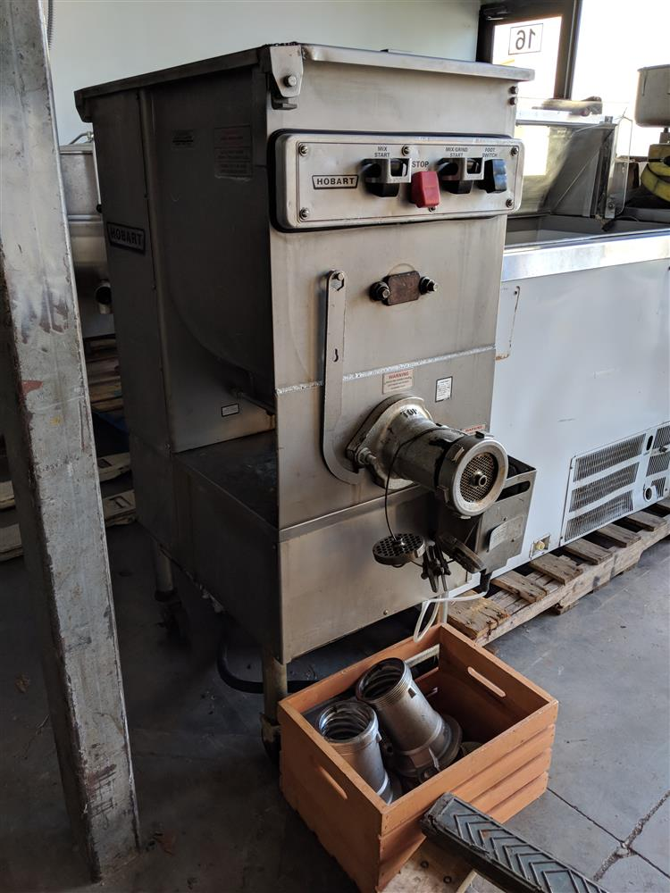 Meat Grinder For Sale >> HOBART 4246-HD Meat Gri - 335400 For Sale Used N/A