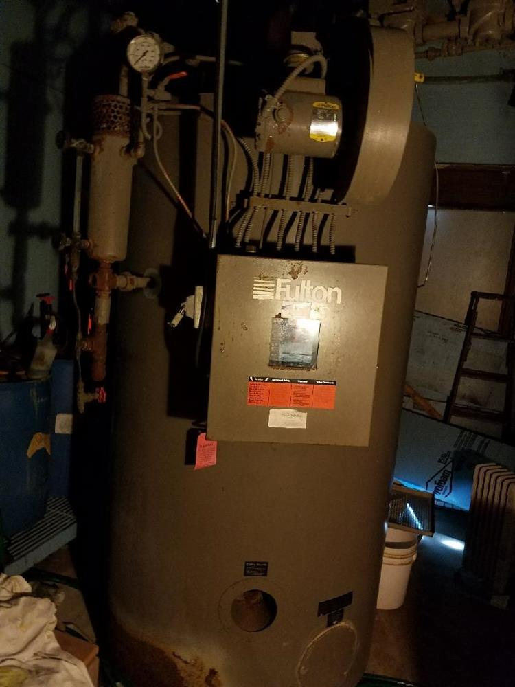 FULTON FB-030-A Steam Boile - 337165 For Sale Used
