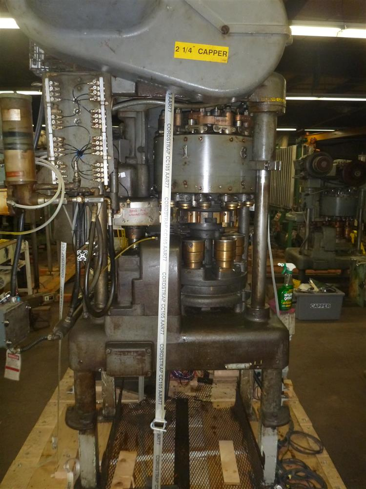 ANGELUS 60L MSLF Seamer - 204 Dia., Single Screw Separator