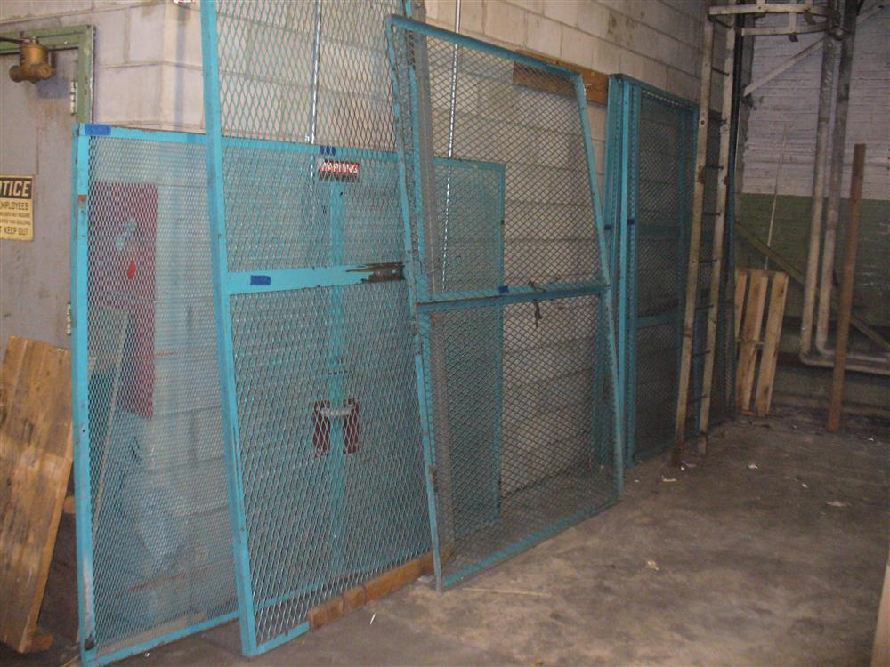 5 Heavy Duty Expanded Metal Security Cage Wall - Needs Hardware & Door Hinges