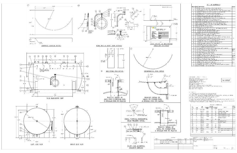 Image 5500 Gallon Tank/Vessel/Reactor - Carbon Steel 1130609