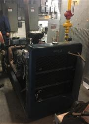 338433 - KOHLER Continuous Duty NG Generator Set with 1438 Hours - 75 kW