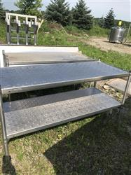 339055 - Construction Work Table - Stainless Steel