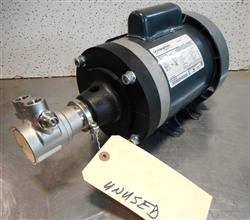 339077 - BERNS Fluid O Tech Rotary Vane Pump - Model PA 411