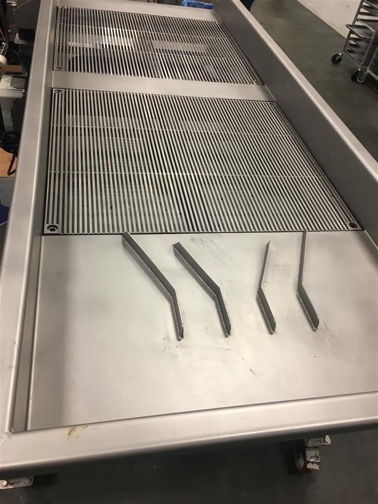 Image BUCHER VASLIN Vibrating Sorting Table - Model Delta TRV 25 VAR 2X6mm 1140634